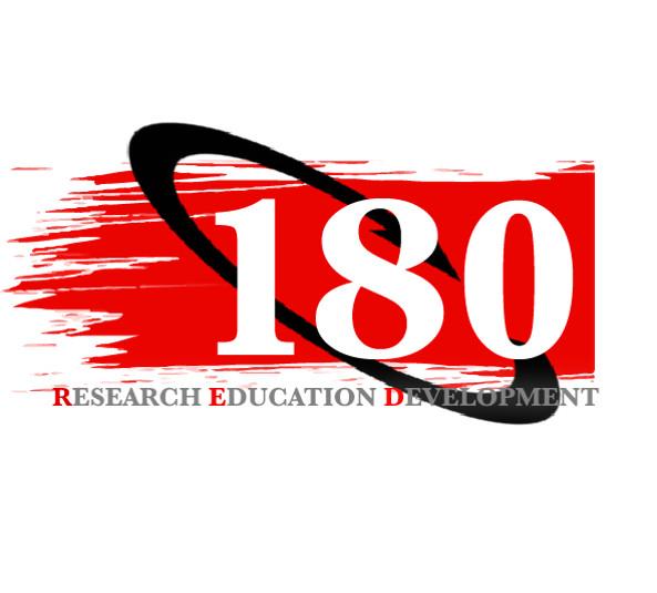 180 Red logo