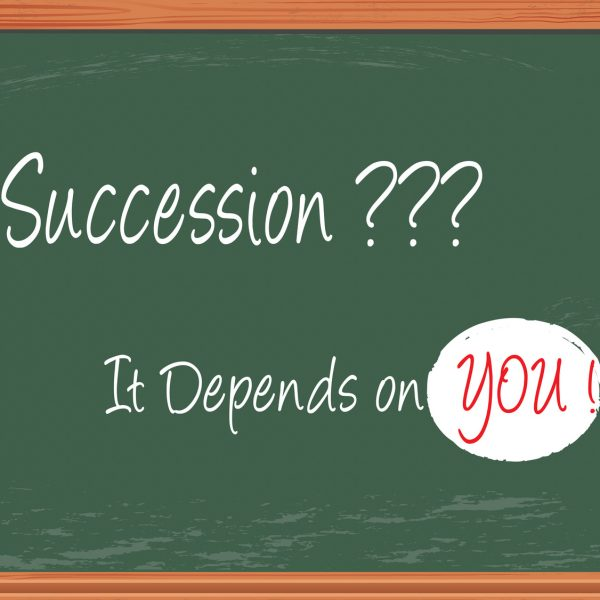 succession depends on you